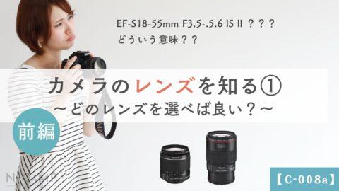 【C-008a】前編_カメラのレンズを知る①
