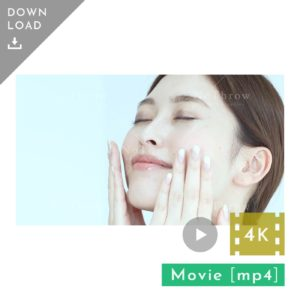 N_001002_203A7919_【動画素材4K】肌をケアする女性