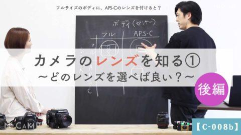 【C-008b】後編_カメラのレンズを知る①どのレンズを選べば良い?