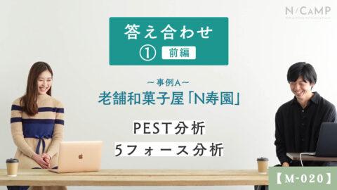 【M-020】事例Aの考察_老舗和菓子屋「N寿園」_前編